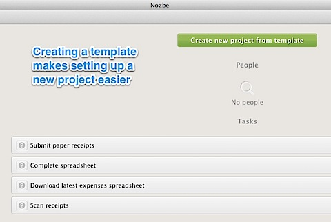 Nozbe Project Template