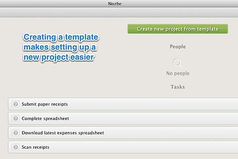 Nozbe Project Template